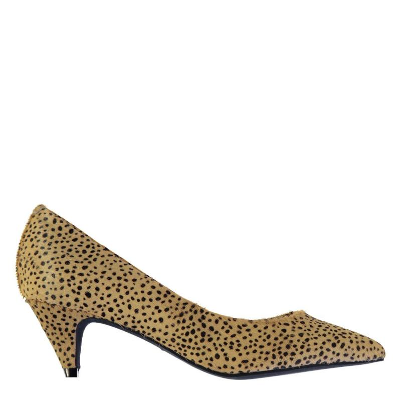 Obuv Jeffrey Campbell Brea Hair Shoes Black/Beige