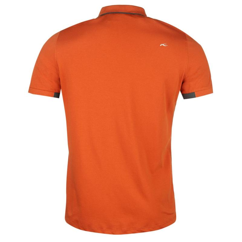 Tričko KJUS Stan T Shirt Mens Orange