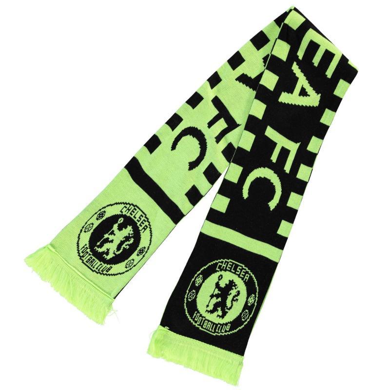Team Football Neon Scarf Chelsea