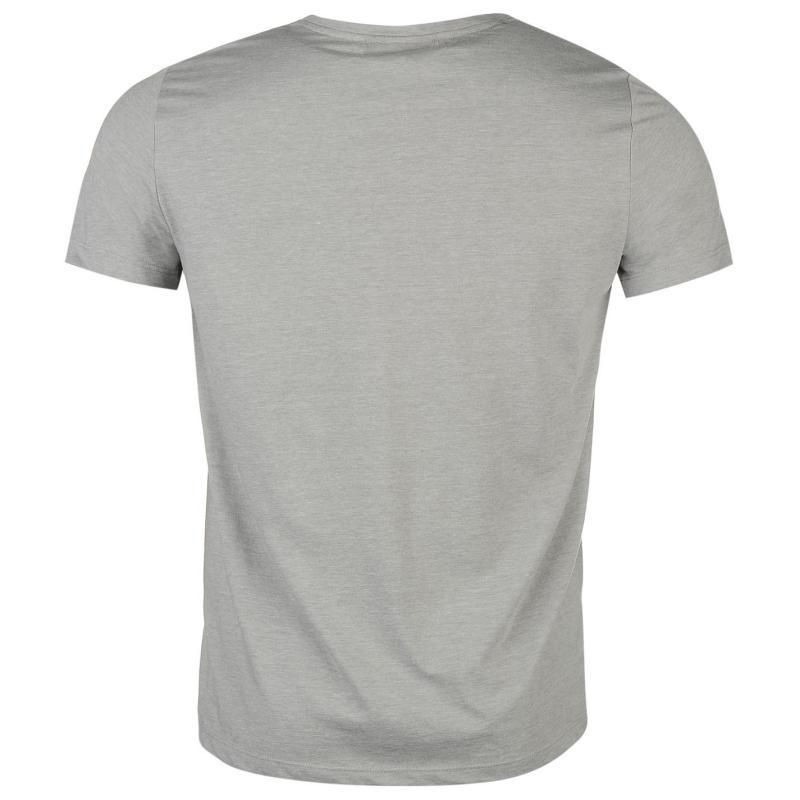 Tričko KJUS T Shirt Mens Grey
