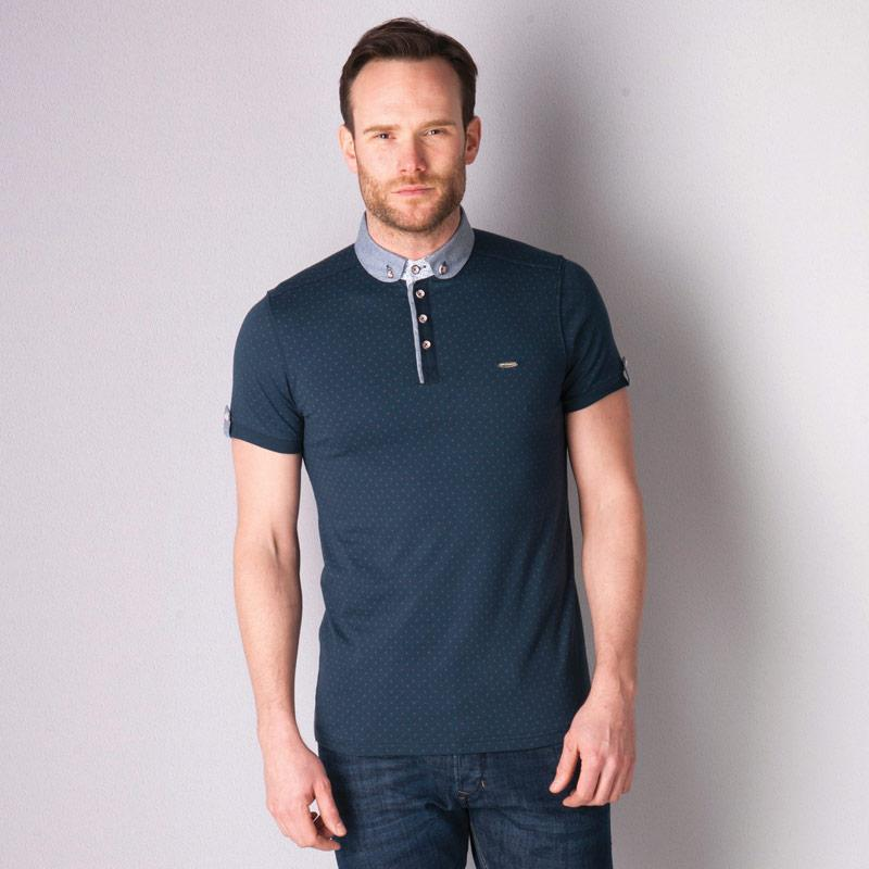 Bewley And Ritch Mens Soren Polo Shirt Navy