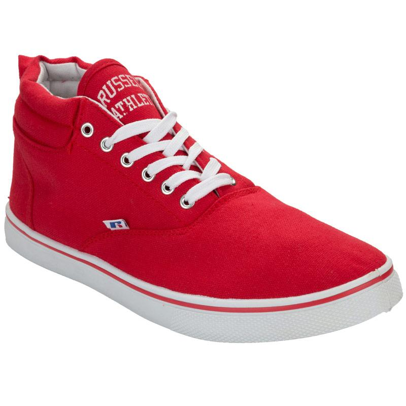 Boty Russell Athletic Mens Mid Cut Pumps Red
