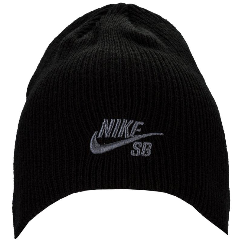 Nike SB Boys Knitted Hat Black
