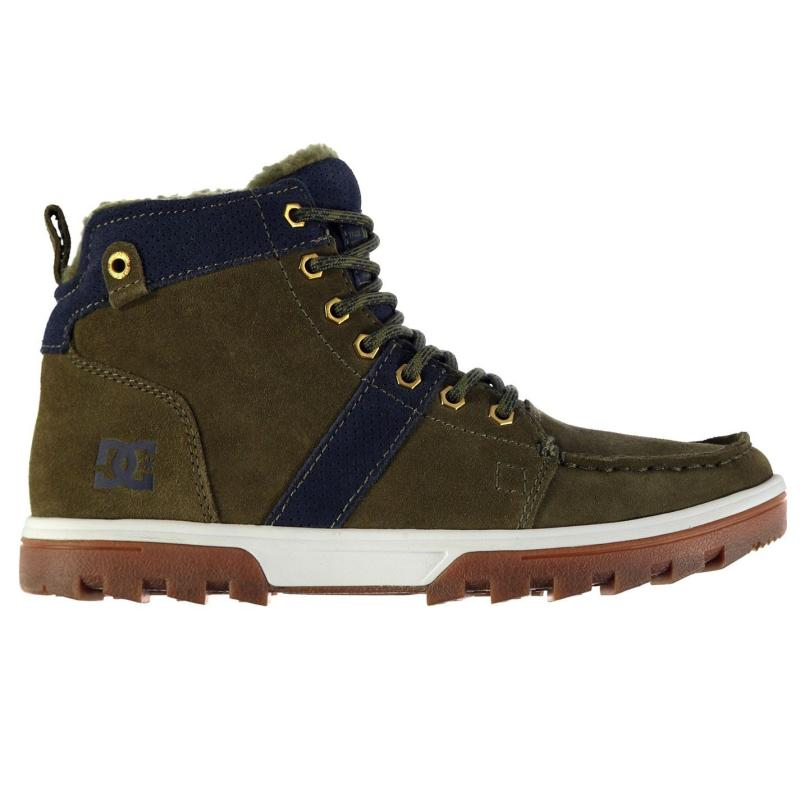 Boty DC Woodland Mens Boots Khaki/Navy