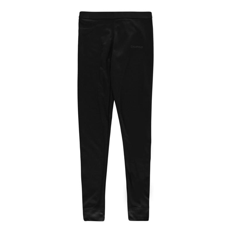 Campri Thermal Baselayer Pants Unisex Junior Black