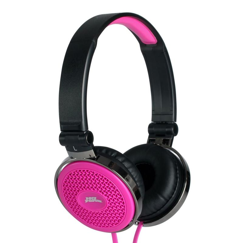 No Fear Headphones Pink