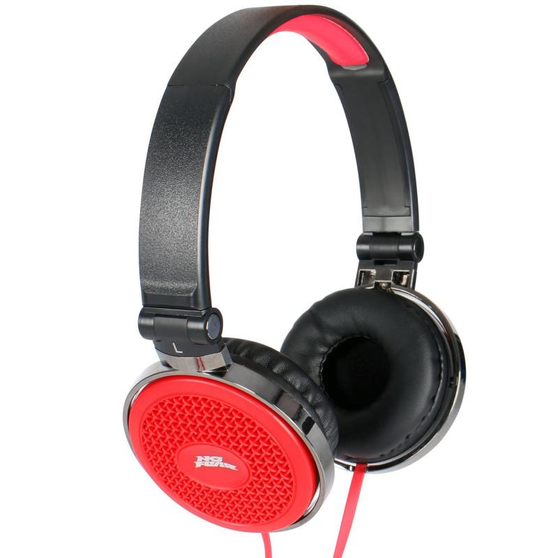 No Fear Headphones Red