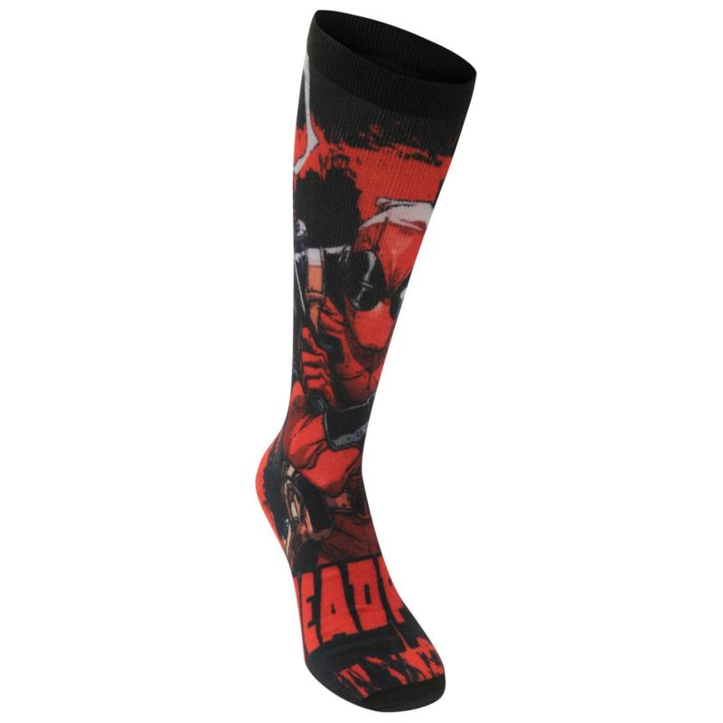 Ponožky Character Socks Pack of 3 Mens Suicide Squad