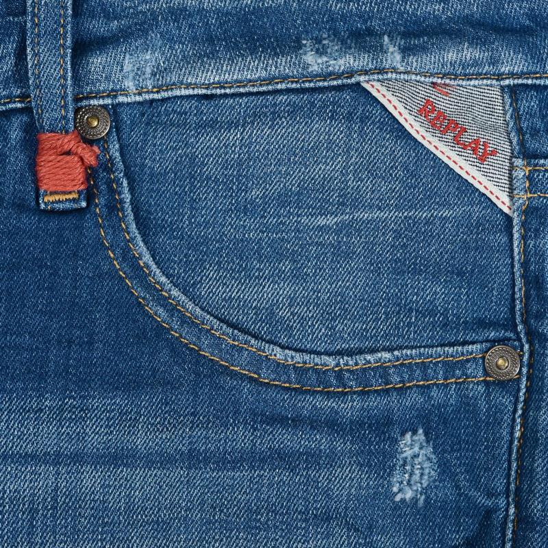 Replay Jeans Shorts 009 Blue