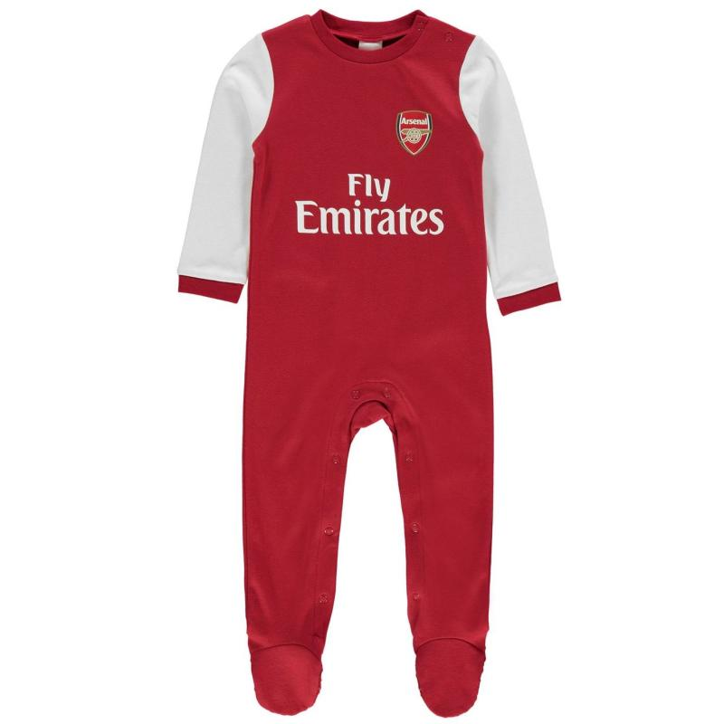 Team Football Sleepsuit Baby Boys Arsenal