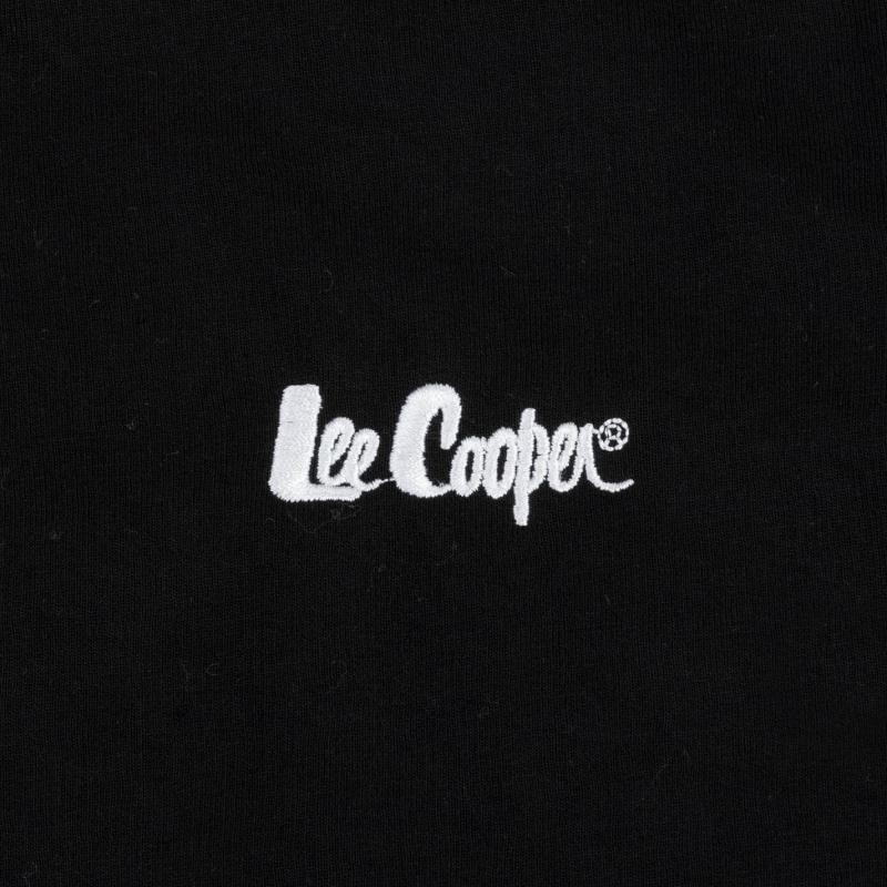 Mikina Lee Cooper Hoody Ladies Black