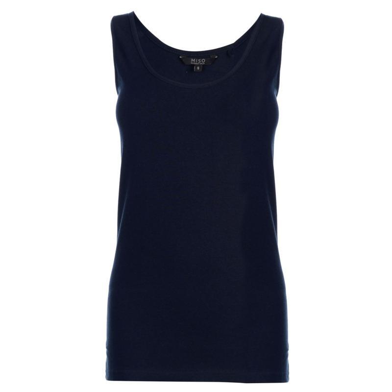 Miso Scoop Vest Ladies Navy