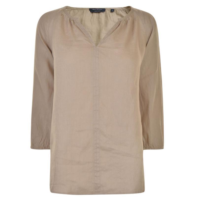 Košile Marc O Polo Blouse Safari Dust