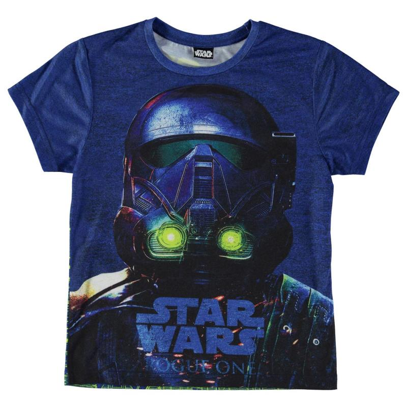 Tričko Star Wars Character T Shirt Child Boys Storm Trooper