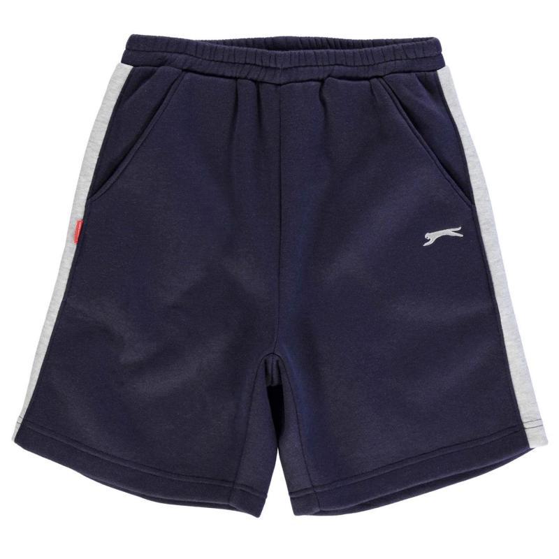 Kraťasy Slazenger Fleece Shorts Junior Boys Navy
