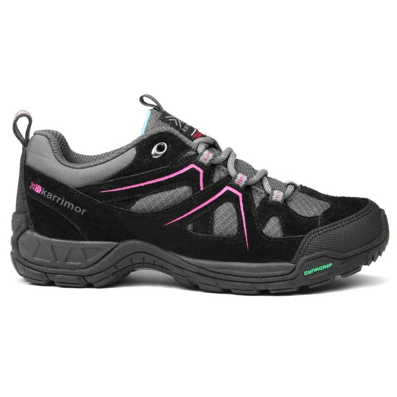 Karrimor Summit Childrens Walking Shoes Black/Pink