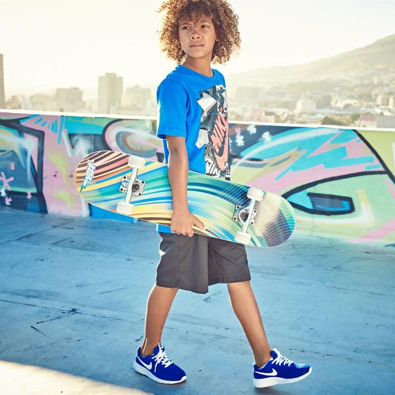 Tričko Nike QTT Rip T Shirt Junior Boys Black