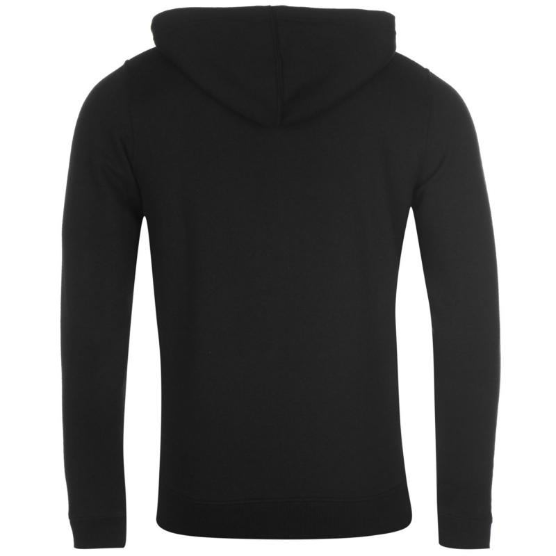 Mikina ONeill Logo Zipped Hoody Mens Black Out