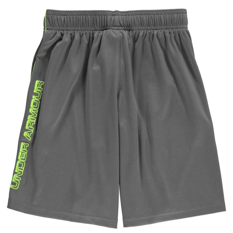 Kraťasy Under Armour Tech Block Shorts Junior Boys Grey