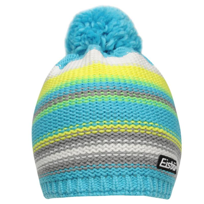 Eisbär Eisbar Dakota Ski Hat Junior Blue/Yellow