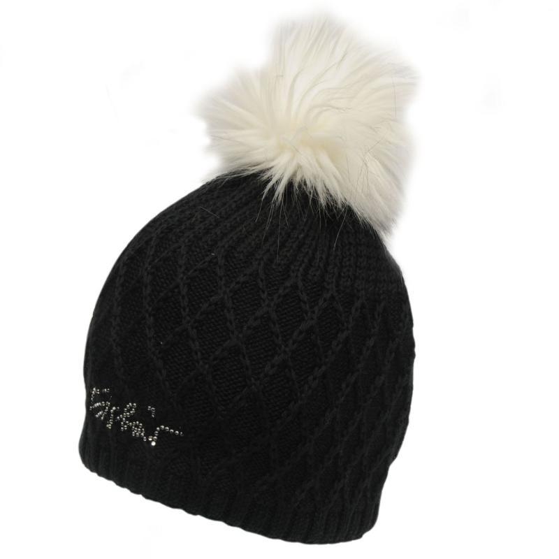 Eisbär Eisbar Laura Lux Beanie Hat Ladies Black