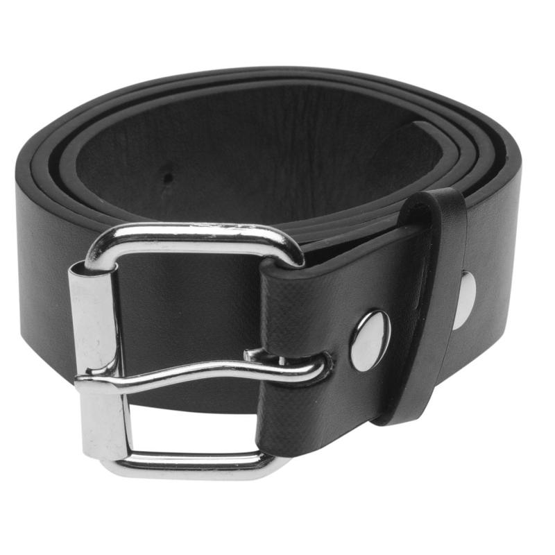Pulp Plain Belt Mens Black