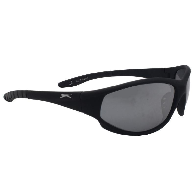 Slazenger Chester Sports Sunglasses Black