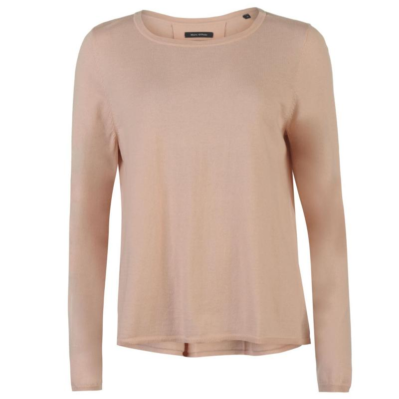 Mikina Marc O Polo Boar Neck Sweater Ladies Pink rose-326