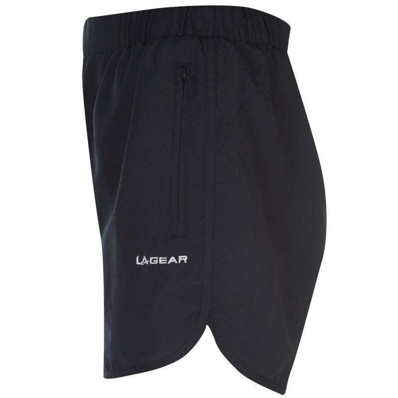 LA Gear Woven Shorts Ladies Navy