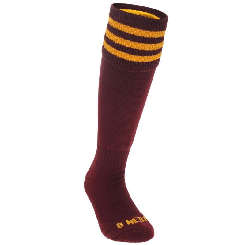 Ponožky ONeills FB Bar Sock Jn84 Maroon/Amber