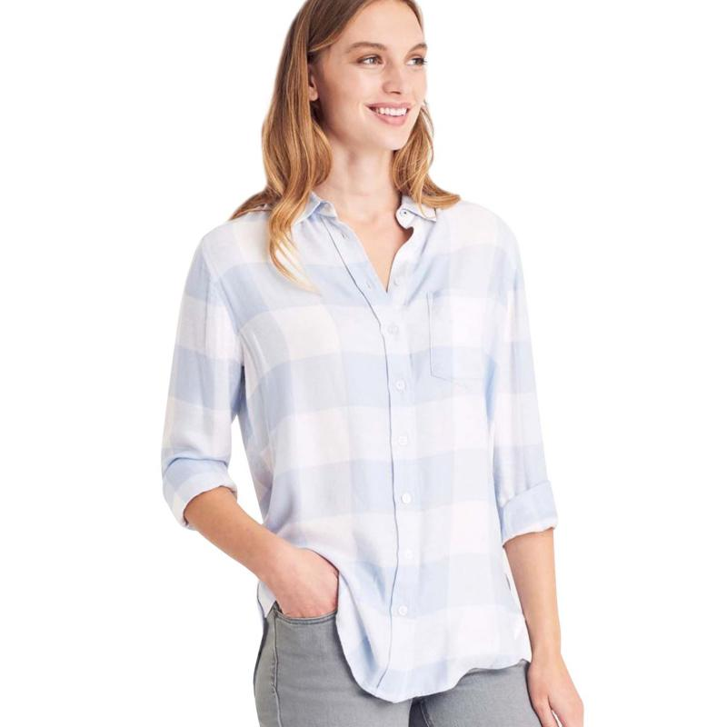 Košile Joules Laurel Shirt Blue Gingham