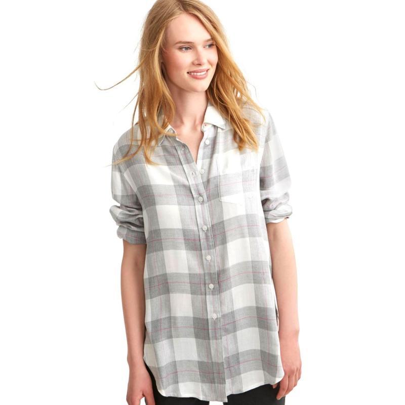 Košile Joules Laurel Shirt Grey Check