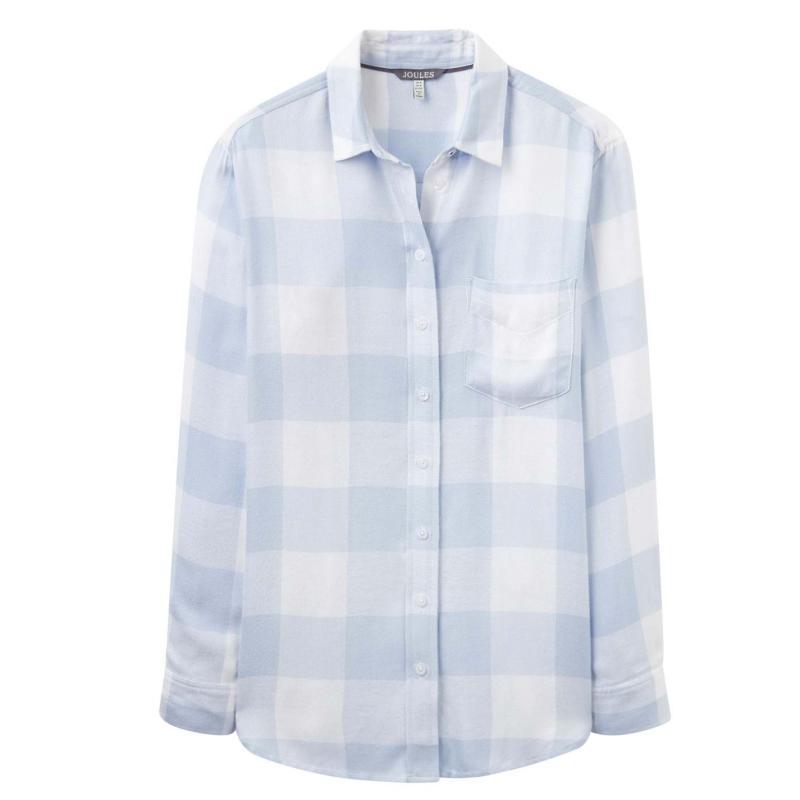 Košile Joules Laurel Shirt Blue Gingham