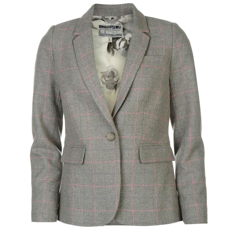Joules Lizbeth Tweed Blazer Tilly Tweed