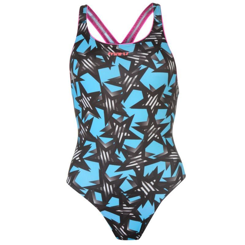 Plavky Maru Pacer Swimsuit Milky Way