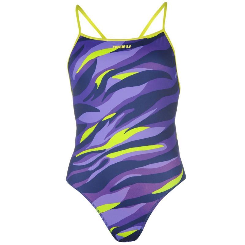 Plavky Maru Thinstrap Swimsuit Ladies Jungle