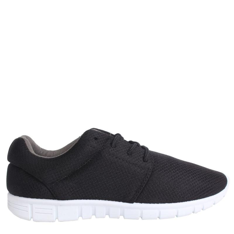 Fabric Mercy Runners Ladies Black/White