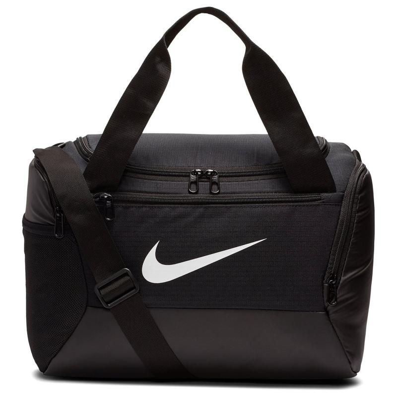 Nike Brasilia XS Training Duffel Bag (Extra Small) Black/White