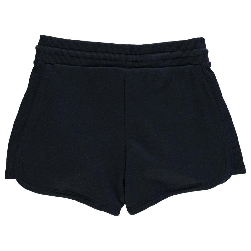 Converse Rib Short Infants Girls Black