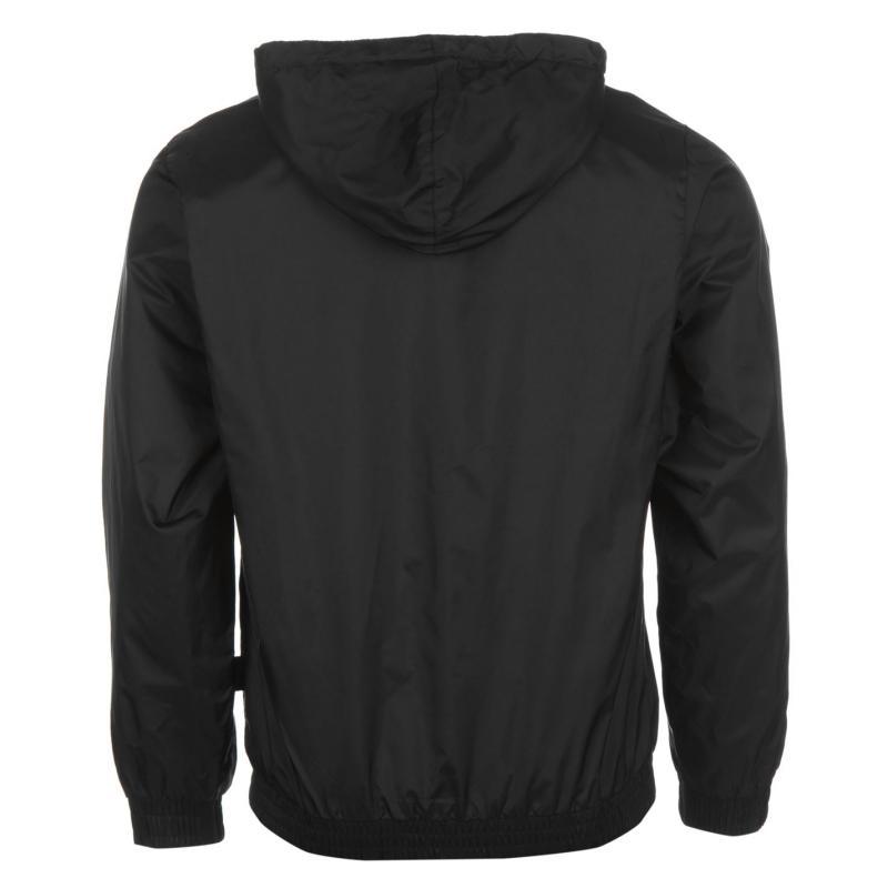 Everlast Geo Rain Jacket Mens Black