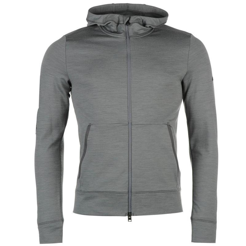 Mikina KJUS Brissago Hooded Jacket Mens Grey