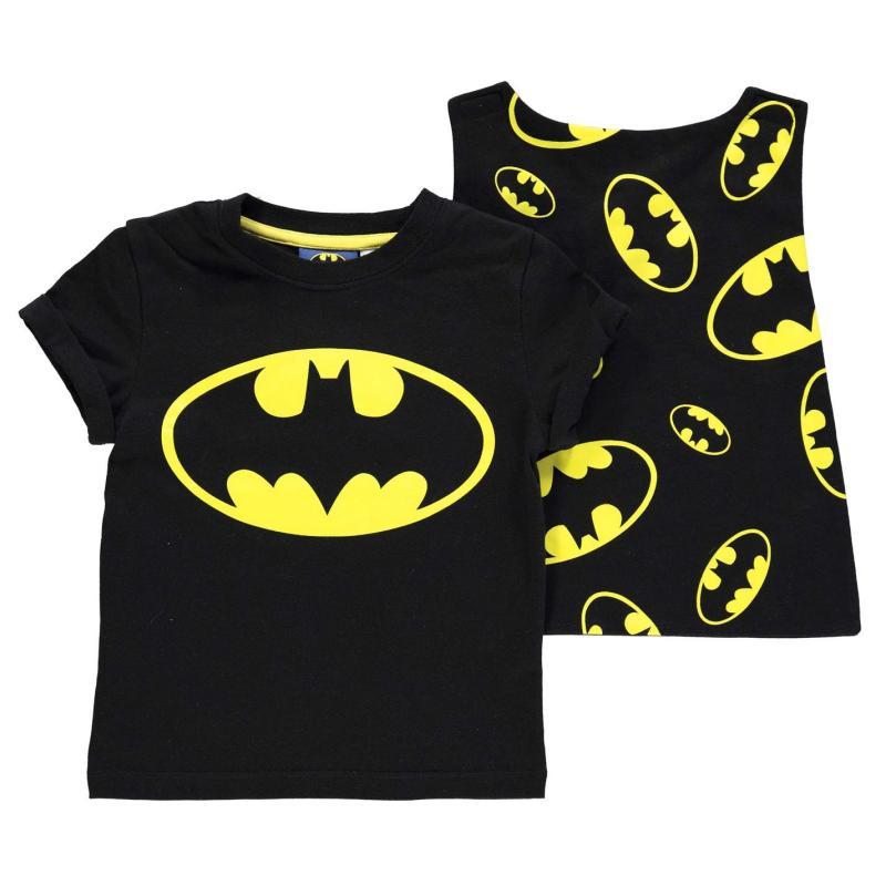 Tričko Character Short Sleeve T Shirt Boys Batman