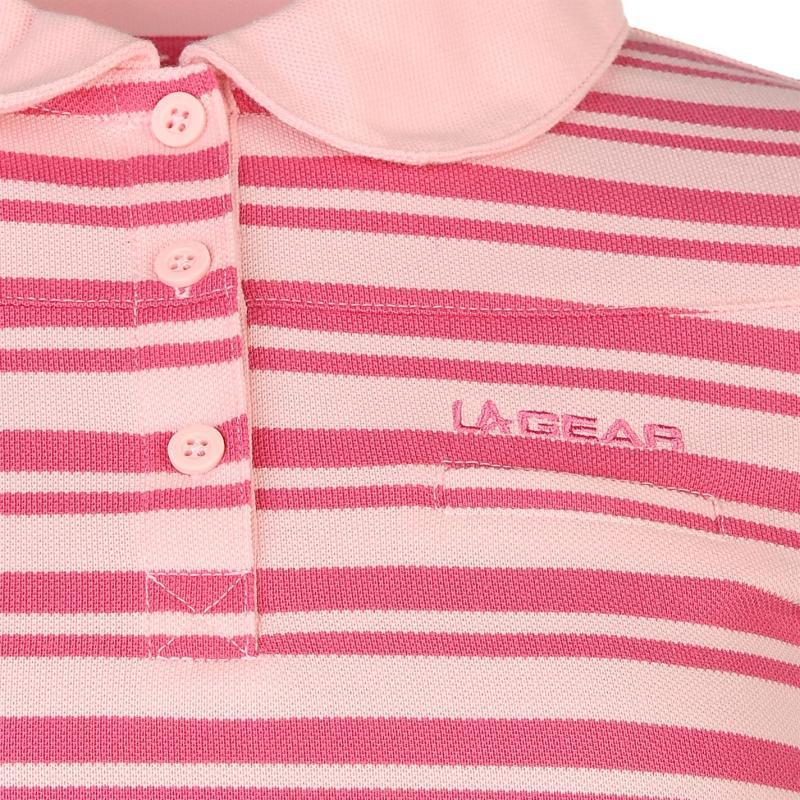 Polokošile LA Gear YD Polo Shirt Ladies Pink