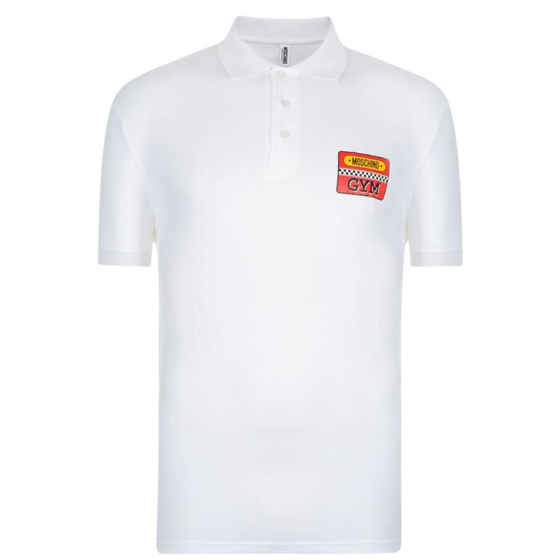 Moschino Polo Shirt White