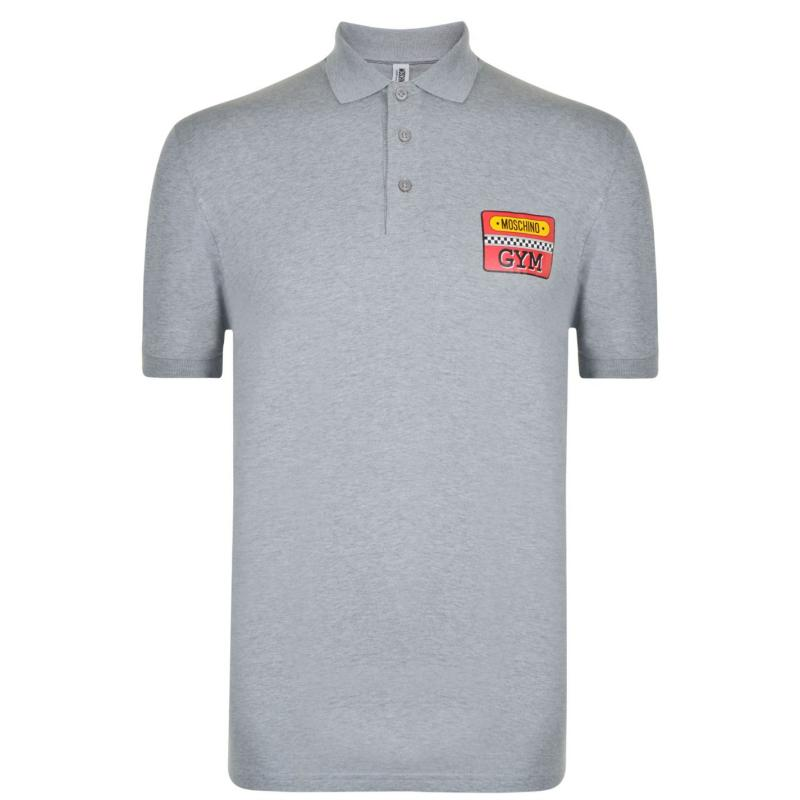 Moschino Polo Shirt Grey
