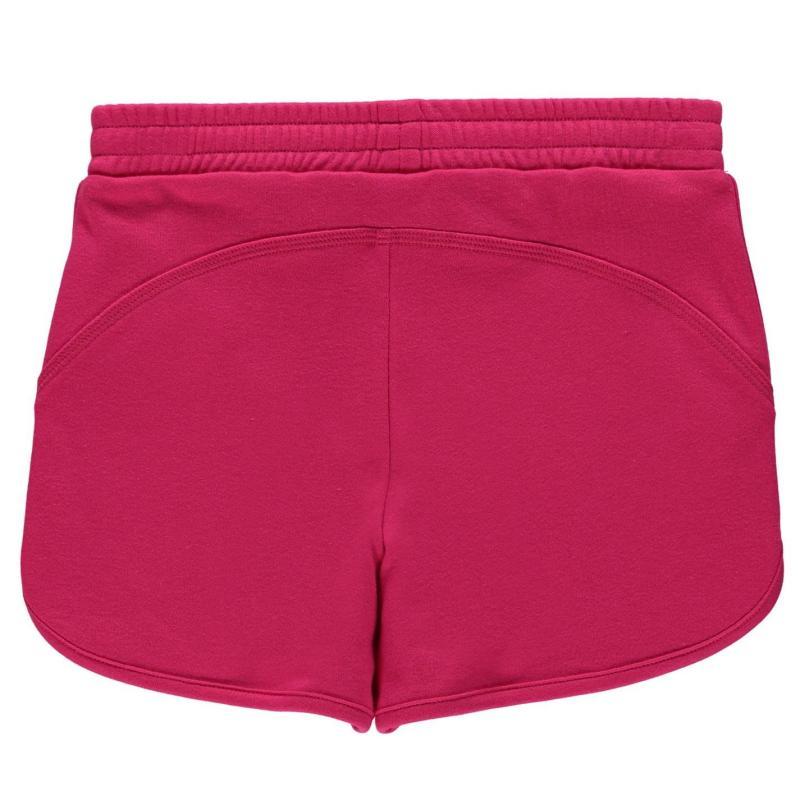 LA Gear Interlock Shorts Junior Girls Black
