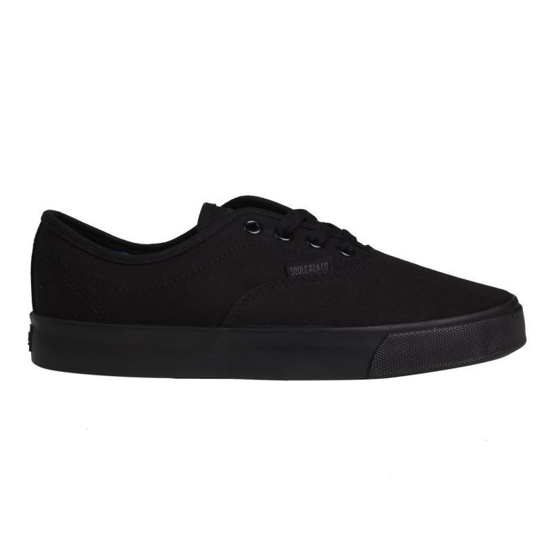 SoulCal Sunset Lace Canvas Shoes Black/Black