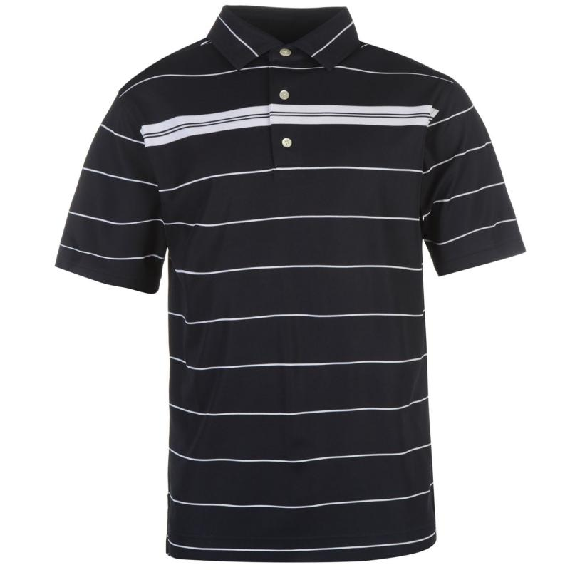 Footjoy Smooth Pique Golf Polo Mens Navy/White