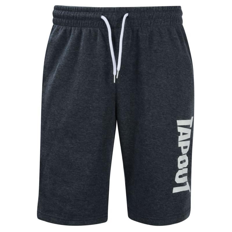 Tapout Fleece Shorts Mens Navy