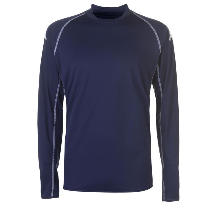 Tričko Kappa Masa Long Sleeve Football Tee Mens Navy